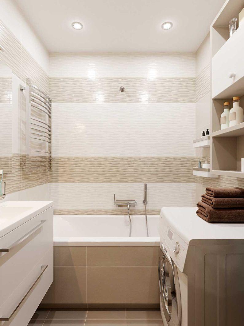 оформление ванной 3 кв м