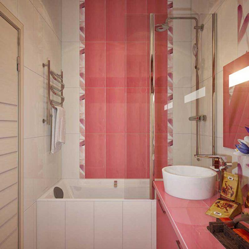 планировка ванной 3 м2