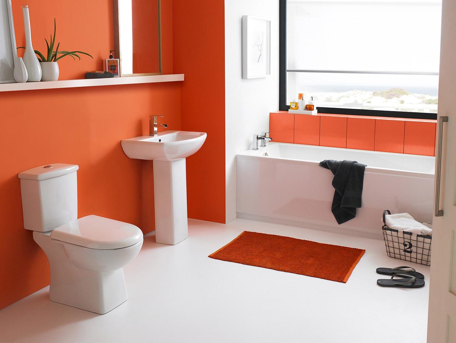 яркий дизайн ванной 5 кв м