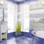 ванная комната с окном смелые идеи