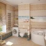 ванная комната с окном комфортная атмосфера