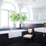 ванная комната с окном дизайн