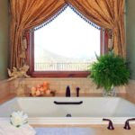ванная комната с окном фото дизайн