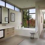 ванная комната с окном идеи