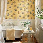 ванная комната с окном идеи дизайн