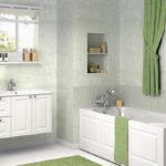ванная комната с окном современный интерьер
