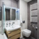 интересные идеи дизайна ванной совмещенной с туалетом