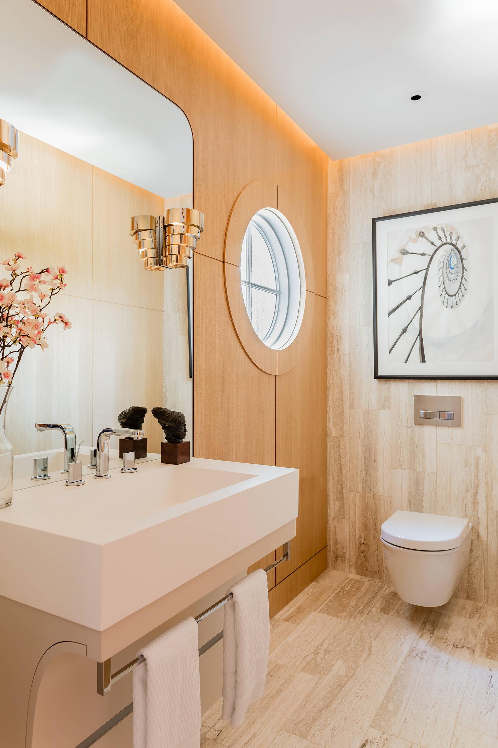 светлая ванная 3 кв м
