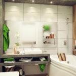 ванная комната 3 кв м фото оформление