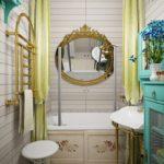 ванная комната 3 кв м идеи фото