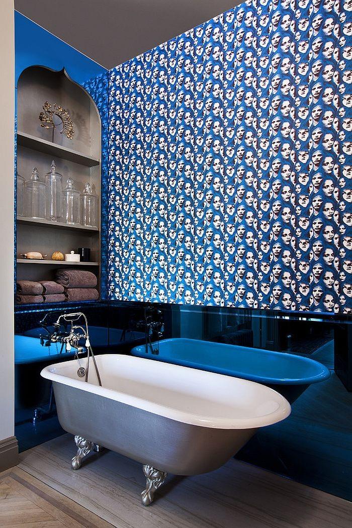 необычный дизайн ванной 3 м2