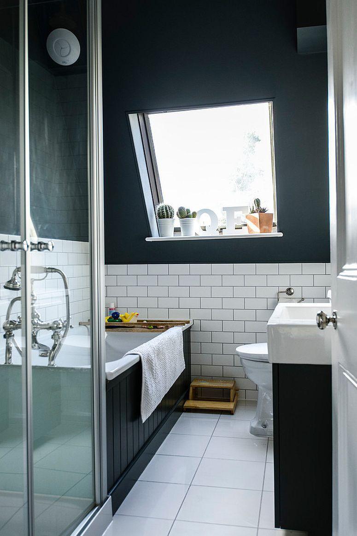 ванная 3 м2 отделка под кирпич