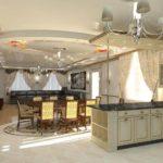 дизайн гостиной кухни 18 м2 идеи