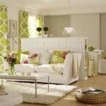 гостиная спальня способы оформления