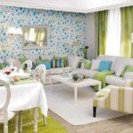 дизайн гостиной кухни 18 м2 в квартире