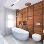 керамическая плитка отделка стен в ванной