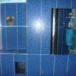 керамическая плитка голубого цвета