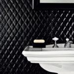 черная керамическая плитка