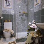 Декор ванной комнаты деревянные аксессуары в комнате хай-тек