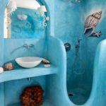 Декор ванной комнаты морская тематика