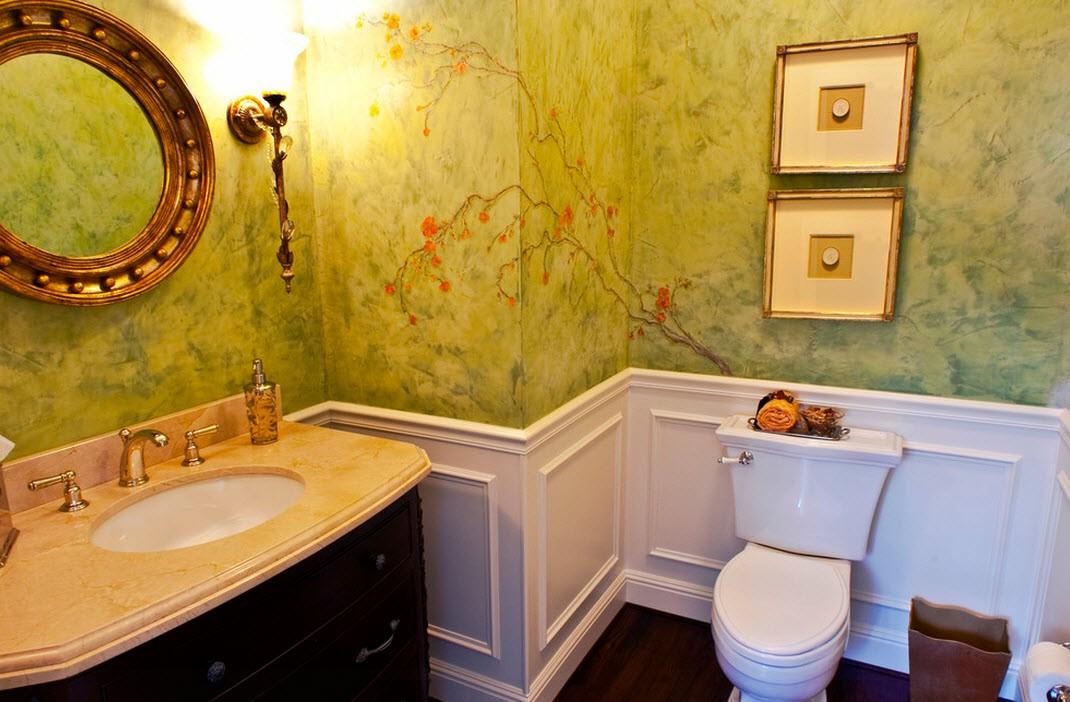 венецианская штукатурка в ванной комнате отзывы