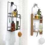 Декор ванной комнаты полка-органайзер для гигиенических принадлежностей