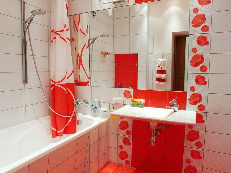 Декор ванной комнаты современный стиль