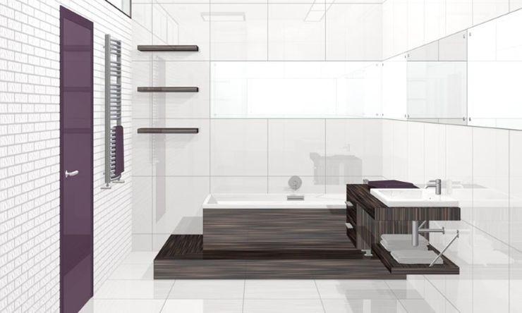 Декор ванной комнаты стиль минимализм для перфекционистов
