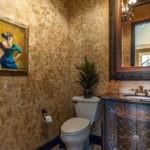 Декор ванной комнаты в стиле шебби-шик
