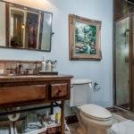 Декор ванной комнаты в винтажном стиле