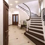дизайн холла в частном доме оформление