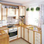 Дизайн кухни в частном доме скандинавский стиль мойка у одна