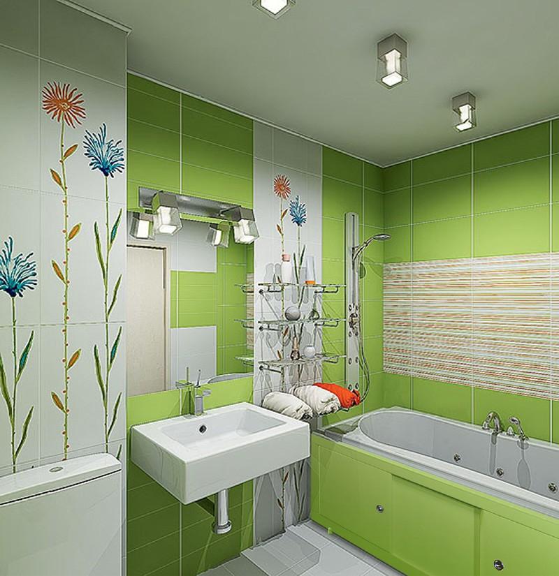 Дизайн ванной комнаты в хрущевке функциональность
