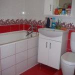 Дизайн ванной комнаты в хрущевке гарнитур для раковины