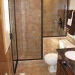 Дизайн ванной комнаты в хрущевке с отгороженной душевой кабиной