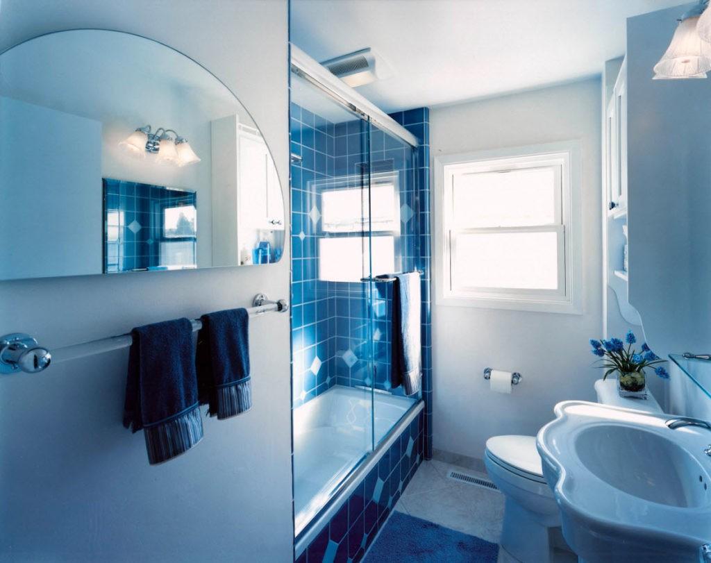 Дизайн ванной комнаты в хрущевке со шкафом