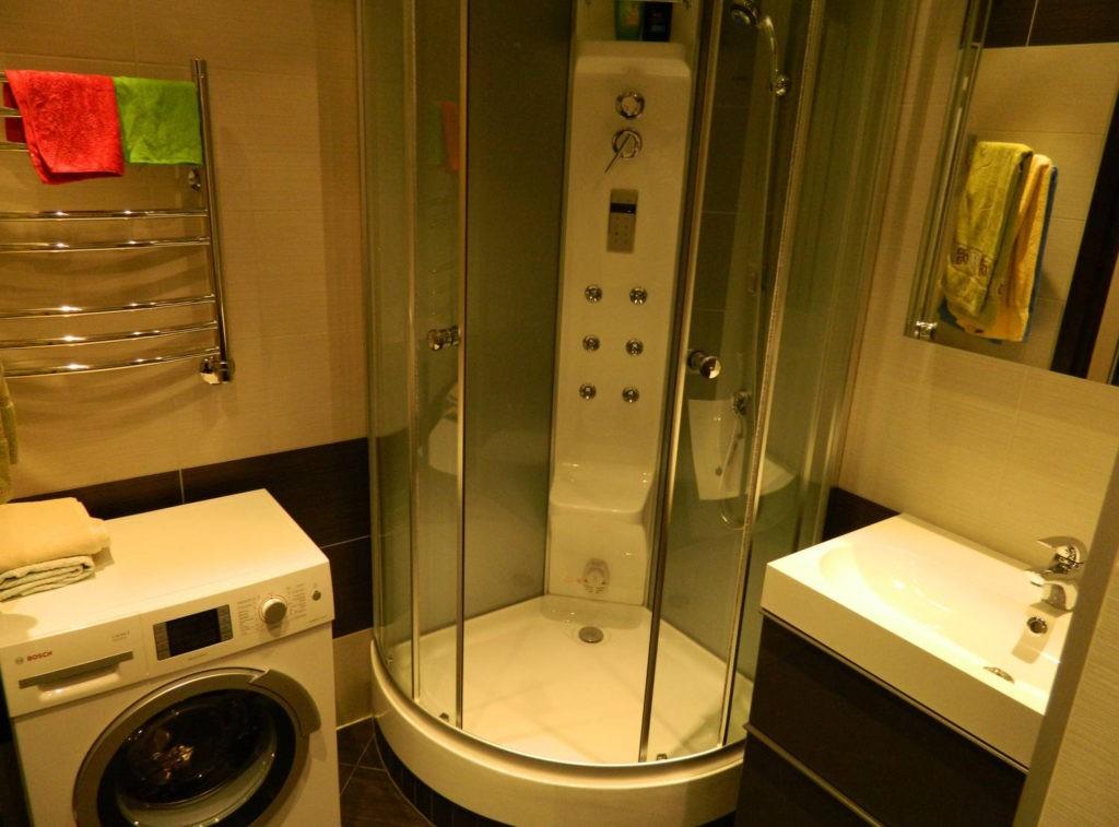 Дизайн ванной комнаты в хрущевке стиральная машина