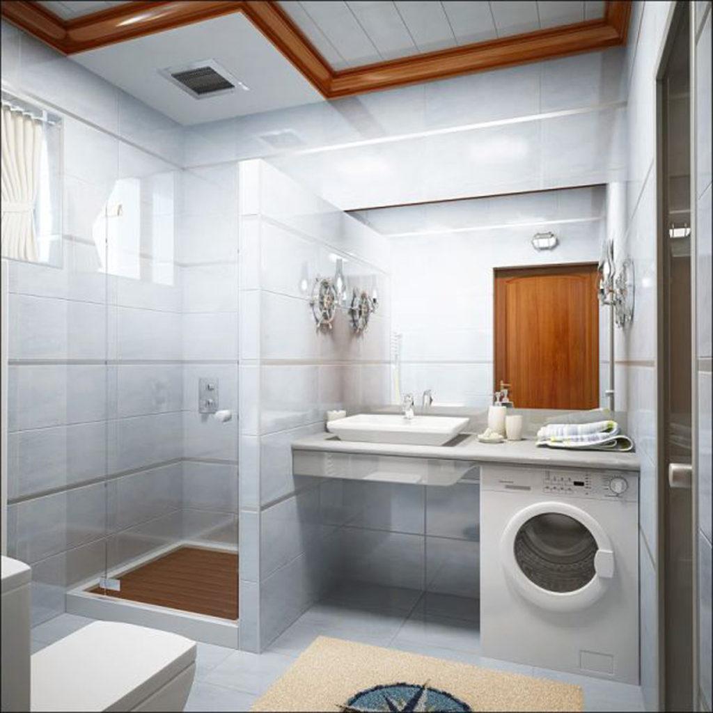 Дизайн ванной комнаты в хрущевке третий лишний