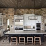 элитный дизайн кухни фото интерьер