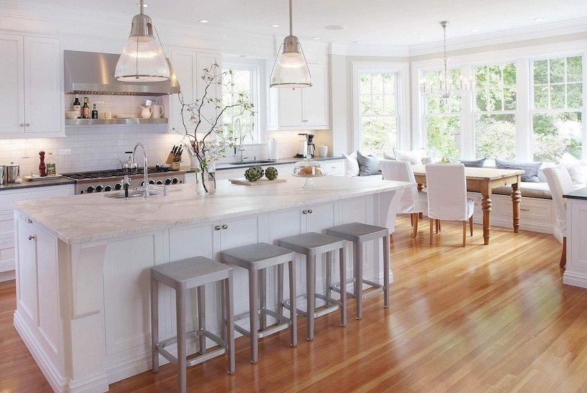 фото интерьера элитной кухни