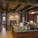 элитный дизайн кухни интерьер