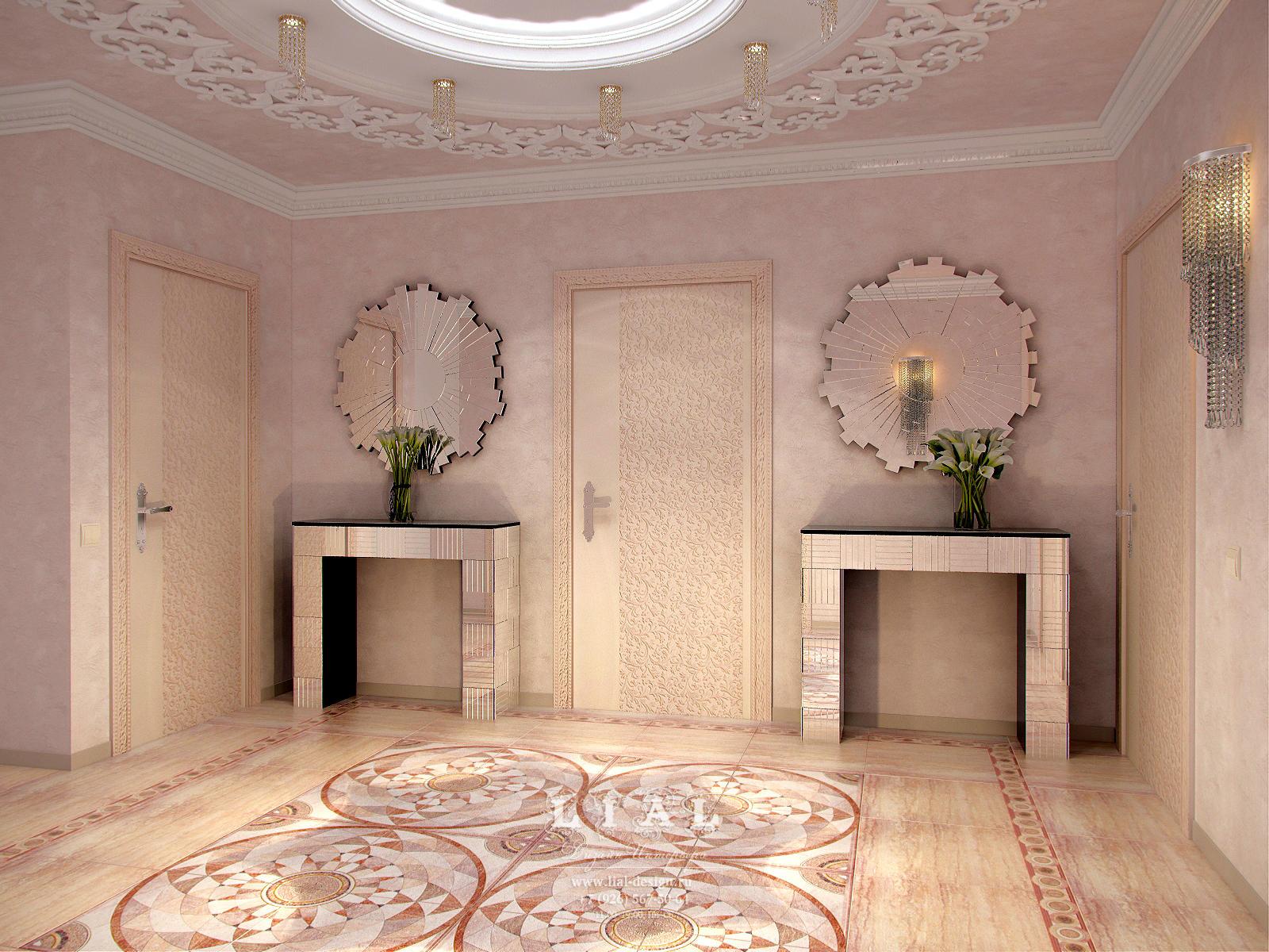 интерьер холла в доме