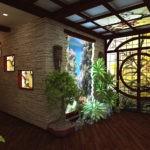 холл в частном доме идеи интерьер