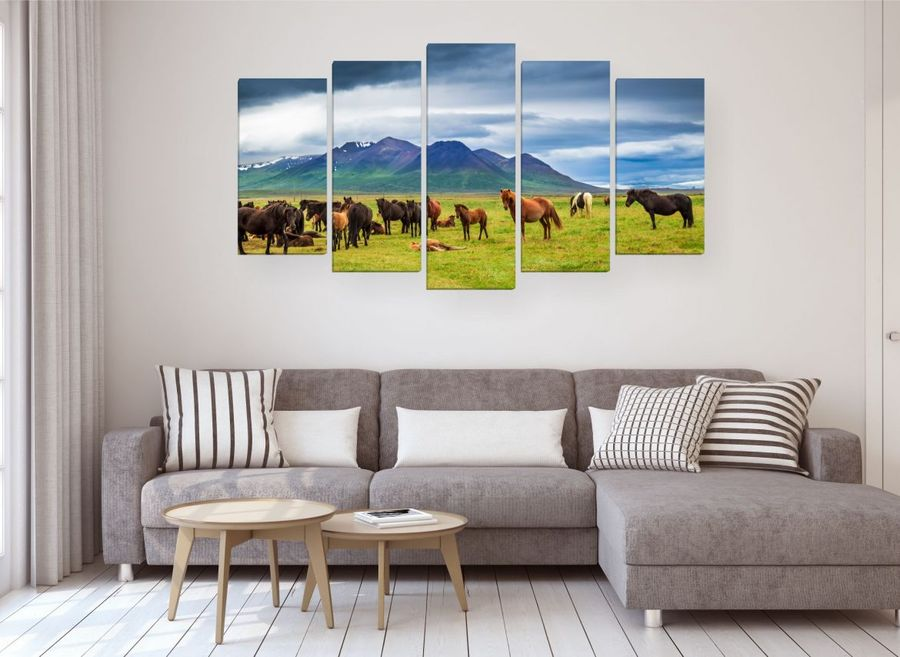 Картины в интерьере гостиной фэн-шуй