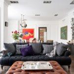 Картины в интерьере гостиной в стиле Анри Матисса
