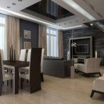дизайн гостиной кухни 18 м2 в доме