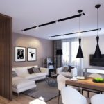 кухня гостиная 18 м2 современный интерьер