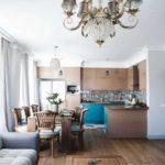 кухня гостиная 18 м2 идеи дизайна