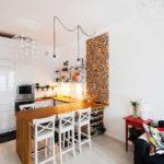 кухня гостиная 18 м2 идеи оформления