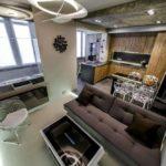 кухня гостиная 18 м2 интерьер